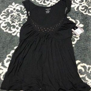 NWT mossimo black top